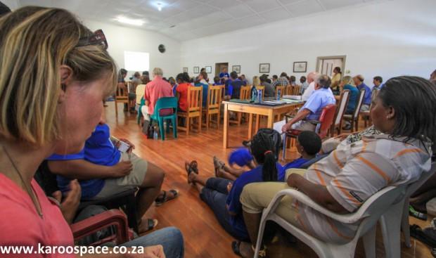 Falcon meeting, Jansenville Karoo