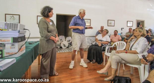 Falcon's Jansenville meeting, Karoo