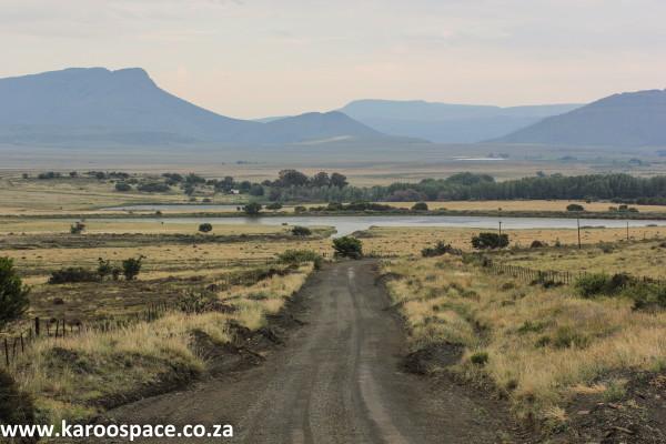 Farm dam, Karoo, near Pearston