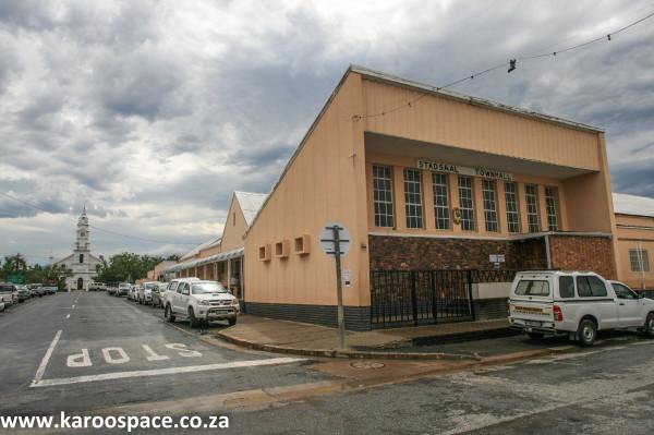 Pearston town hall, Karoo
