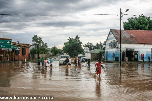 Pearston main road, Karoo