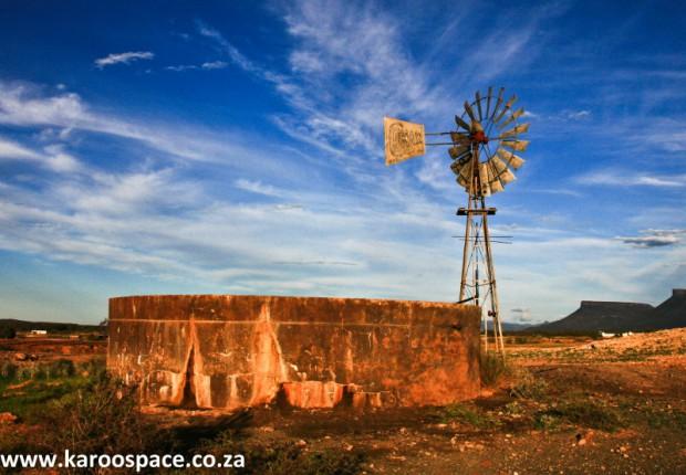 windmills, karoo