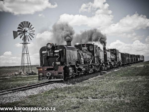 steam trains, sandstone estates
