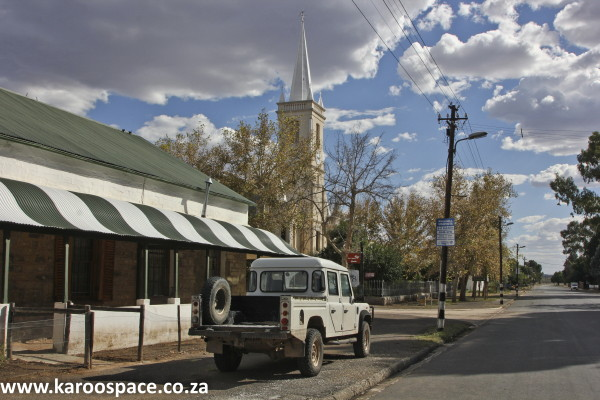 A street in Murraysburg.