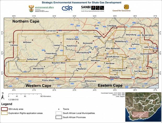 Karoo fracking shale