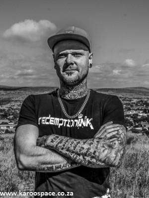 Cradock tattoo artist Brendon Fletcher.